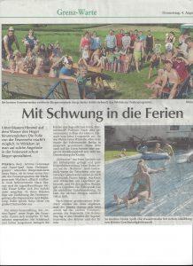 FFW Zeltlager Zeitungsbericht 2016 jpg